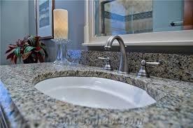 gorgeous santa cecilia granite with ogee edge profile vanity top