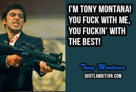 Scarface Quotes Best 48 Best Scarface Quotes By Tony Montana