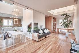 Modern And Minimalist House Design Ideas Applied With Wooden Decor Inside