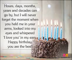 40 Cute Love Quotes For Husband On His Birthday Interesting Happy Birthday Husband Quotes
