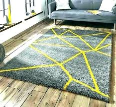 gray yellow rug grey mustard coloured rugs and royal nomadic bath mat couch runner
