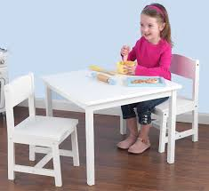 childrens table and chair set white tyres2c