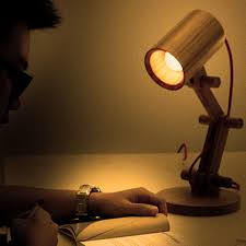 new wooden led desk lamp project hacked gadgets diy tech blog