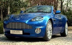 2005 Aston Martin Zagato Vanquish Roadster Zagato Opens Another Aston And It S One Swish Quish