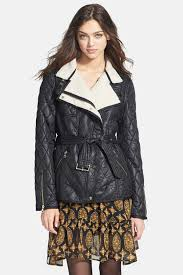 image of sam edelman rylie asymmetrical quilted jacket