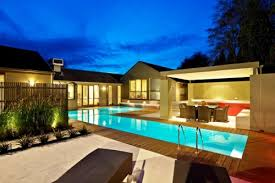 View in gallery lap pool design ideas 02 5 Modern Lap Pool Design Ideas by  Out From The Blue