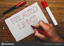 Word Writing Text Related Links Business Concept For Website Inside