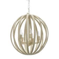 madera coco chandelier by palecek palecek