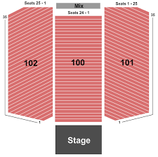Seneca Allegany Casino Events Center Seating Chart Seneca Allegany Casino Seating Chart Salamanca
