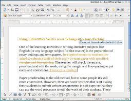 using openoffice   libreoffice writer record change feature in    libreoffice writer on record changes mode