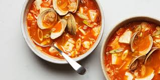 Kimchi Soup With Tofu and Clams recipe ...