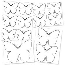Printable Butterfly Outline Large Printable Butterfly Template Printable Treats Com