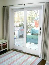 sliding glass door treatments make over of curtains ideas