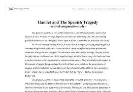 hamlet and the spanish tragedy a brief comparative study  document image preview