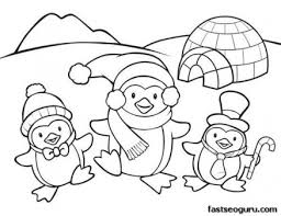 Small Picture Printable coloring pages animal penguins for kids Penguins