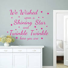 wall art letters stickers