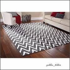 8 x 10 area rug mat carpet living room gray white contemporary 7