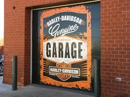 garage door wrapsHarley Garage Door Wrap  DPI WRAPSCOM