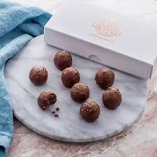 prosecco truffles gift box