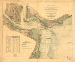 Charleston Harbor Chart 11524 1865 Map Of Charleston Harbor South Carolina In 2018