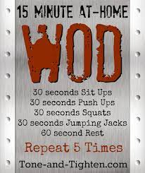 at home wod to strengthen head to toe