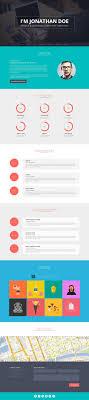Flato Responsive Online Cv Resume Templates Psdblast