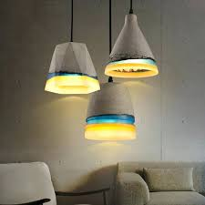 concrete lights vintage concrete colorful resin single light pendant light concrete lamps nz loomier mini concrete concrete lights pendant