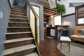tiny houses portland. Rustic Tiny House - Portland AirBnB Staircase Humble Homes Houses