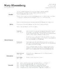Classic Resume Templates Mesmerizing Classic Cv Template Shopeljefeco