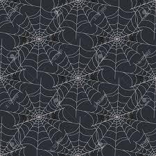 Spider Web Pattern Inspiration Halloween Spider Web Seamless Pattern Vector Background Royalty Free