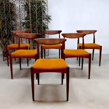Danish Design Furniture Cheap Set Of 6 Vintage Danish Design Dining Chairs By Arne Hovmand Olsen