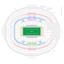 Seating Chart Superdome New Orleans Mercedes Benz Stadium Seating Chart New Orleans Up To Date