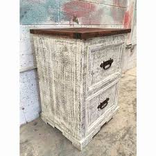 image rustic mexican furniture. Mexican Rustic Furniture Luxury Narrow White Wash Pine Filling Cabinet Image