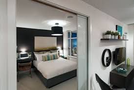 bedroom 18 sliding glass doors for a small bedroom with a compact workstation 62 fashionable bachelor