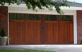 5732 with seeded glass madison windows field stained garage door