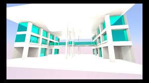 3d architecture interior design of msu cus