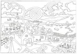 Small Picture Coloring Pages Coloring Printouts Christmas Free Printable