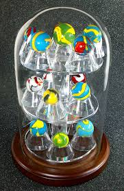 Glass Marble Display Stands