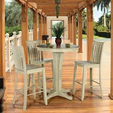 Bistro Kitchen Table Sets Canadel Custom Dining High Dining Customizable Round Pub Table