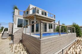 There is a Beach House in Hamptons Made out of Containers!