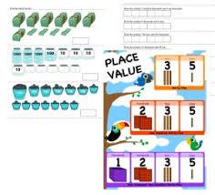 Free Place Value Pdf Math Worksheets Edhelper Com