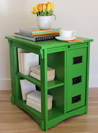green end table end tables designs  amazing green end table