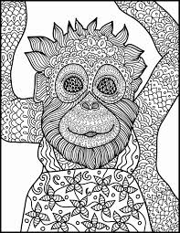 Spider Monkey Coloring Page Elegant Free Monkey Coloring Pages Cute