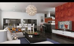LivingcumDining InspirationDrawing And Dining Room Designs