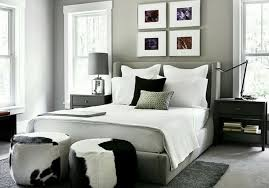 Gray Bedroom Black Furniture Photo   14