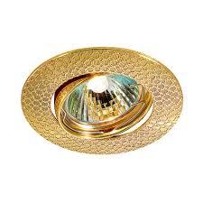 <b>Точечный светильник поворотный</b> Дино 1х50 Вт GU5,3 золото ...