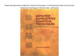 Japanese Candlestick Charting Techniques Download Download Japanese Candlestick Charting Techniques A