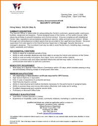 Security Guard Resume Format Download Resume Examples