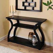 Drawers Image Unavailable Amazoncom Amazoncom 247shopathome Ynj2411 Sofa Table Black Kitchen Dining