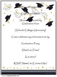 graduation open house invitation templates ctsfashion com graduation open house invitation templates